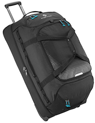 Eagle Creek Expanse Drop Bottom Wheeled Duffel 32 inch Luggage, Black