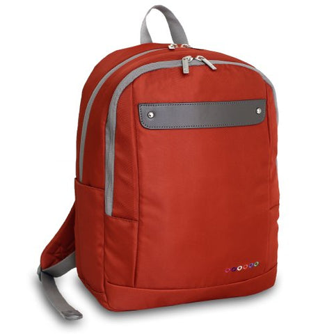 J World New York Beetle Laptop Backpack, Orange, One Size