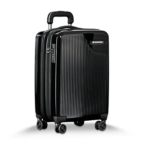 "Briggs & Riley Sympatico Carry-on CX 21"" Spinner, Onyx"