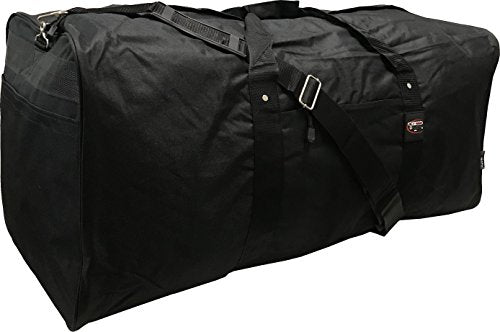 "42"" Black Jumbo Duffle/Cargo Bag/Luggage/Suitcase/Tote"