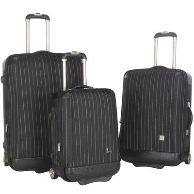 3-Pc Oneonta Luggage Set In Black