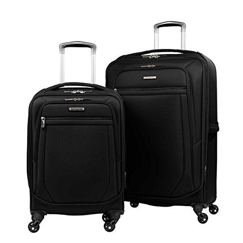 "Samsonite 2-Pc Spinner Luggage Set 27"" Check-In & 21"" Carry-On Super Light Weight 4 Wheel"