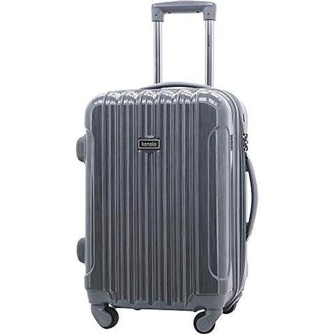 "Kensie Luggage Alma 20"" Expandable Hardside Carry-On Spinner Luggage"