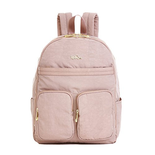 Kipling Women'S Tina Large Laptop Backpack One Size Antique Rose Combo