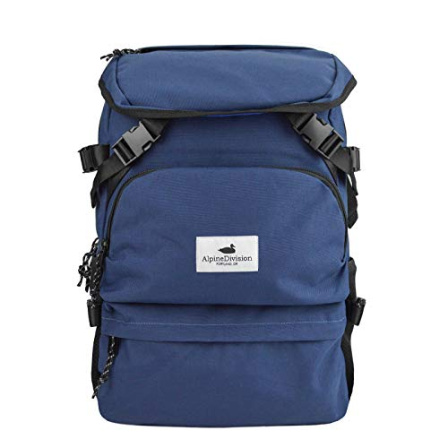 Alpine Division Timberline Laptop Backpack - Navy