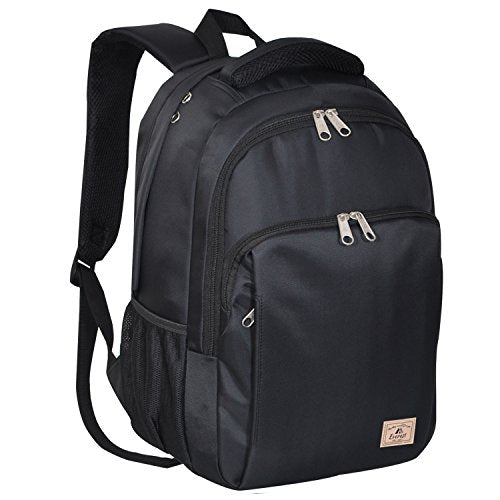 Everest City Travel Backpack, Black, One Size