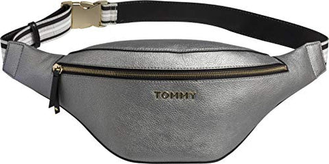 Tommy Hilfiger Cool Met Bum Bag One Size Pewter
