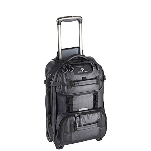 Eagle Creek ORV 2-Wheel International Carry-On Rolling Duffel, Asphalt Black
