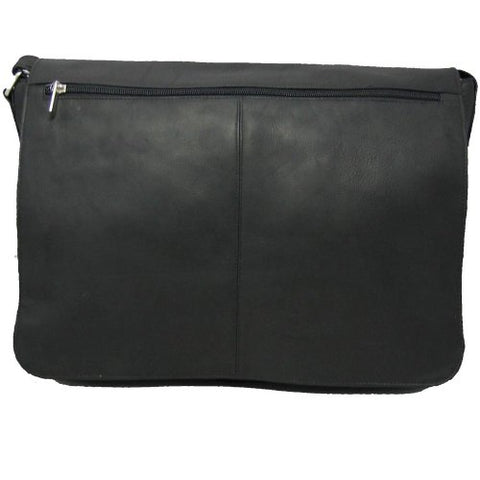 David King & Co. Messenger Bag Plus, Black, One Size