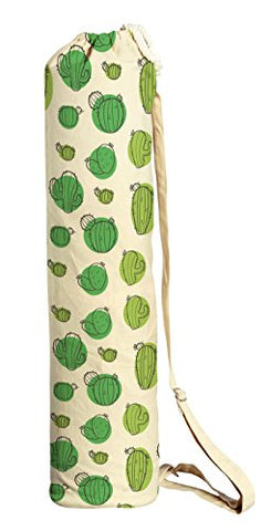 Cactus Abstract-9 Printed Canvas Yoga Mat Bags Carriers Was_41