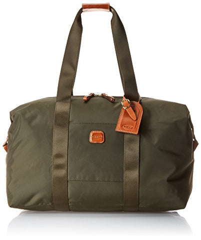 Bric's 18 Inch Folding Duffle, Olive, One Size