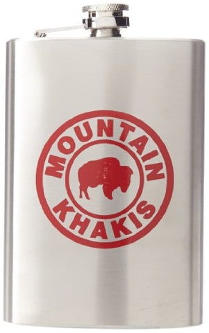 Mountain Khakis Stainless Steel Mk Flask, Stainless Steel, One Size