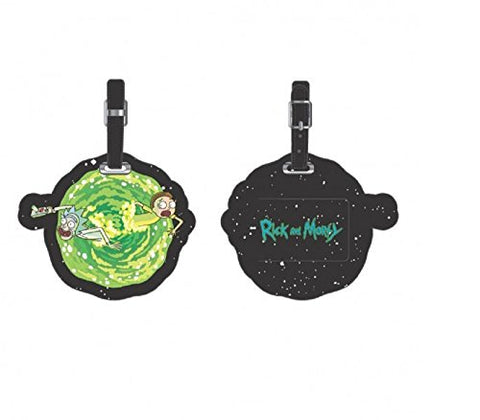 Rick and Morty PU Portal Luggage Tag