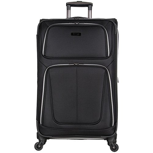 "Kenneth Cole Reaction Lincoln Square 28"" 1680d Polyester Expandable 4-Wheel Spinner Checked"
