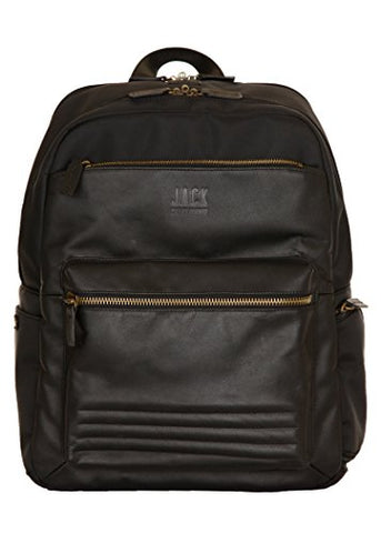 Jill-E Designs Smart Laptop Backpack, Brown (419408)
