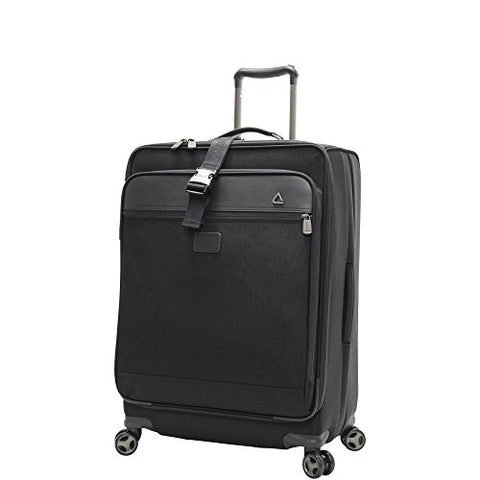 Andiamo Avanti Collection 24 Inch Expandable Spinner, Midnight Black, One Size