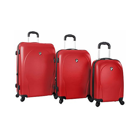 Heys Xcase Spinner 3 Piece Set, Red