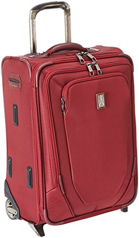 Travelpro Crew 10 20 Inch Expandable Business Plus Rollaboard, Merlot, One Size