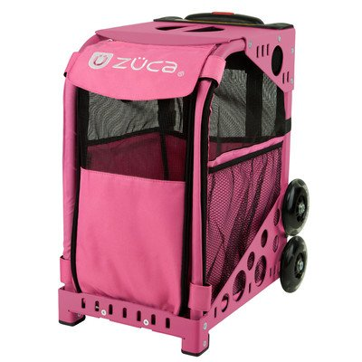 "Pet Carrier 18"" Suitcase Color: Hot Pink / Hot"