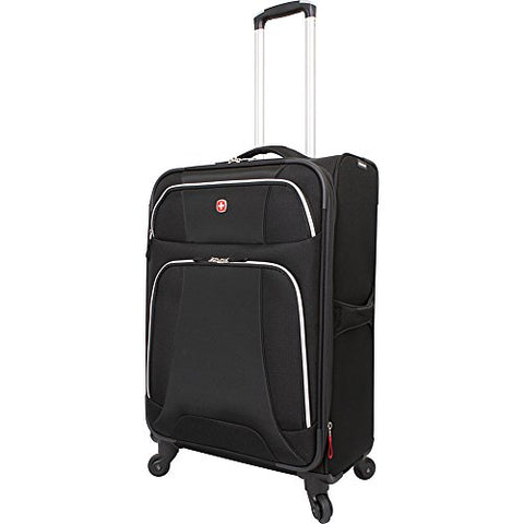 "Wenger Travel Gear Monte Leone 24.5"" Spinner (Black)"