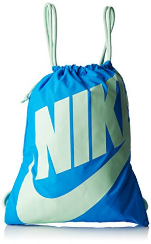 Nike Heritage Gym Sack (Photo Blue/Fresh Mint/Fresh Mint)
