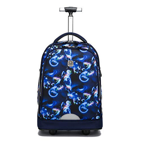 Wheeled Laptop Backpack, Great For High School, College Backpack, Rolling School Bag, Business