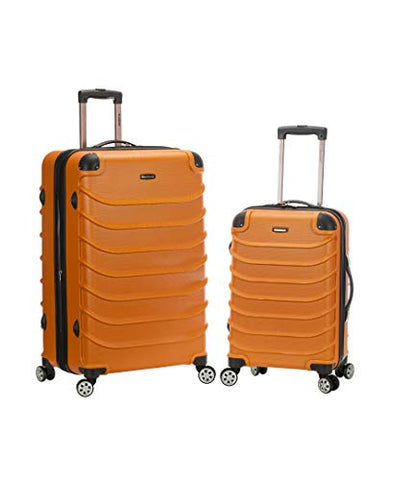 "Rockland Speciale 20"", 28"" 2 Pc. Expandable Abs Spinner Set, Orange"
