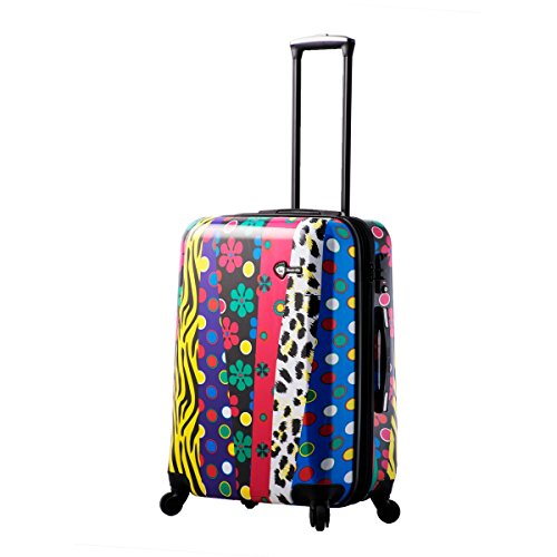 Mia Toro Pop Fiore Hardside 24 inch Spinner, Multi