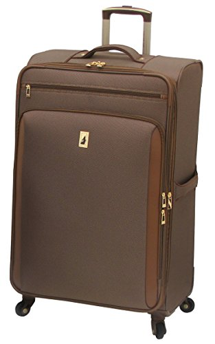 London Fog Kensington 29 Inch Expandable Spinner, Bronze, One Size