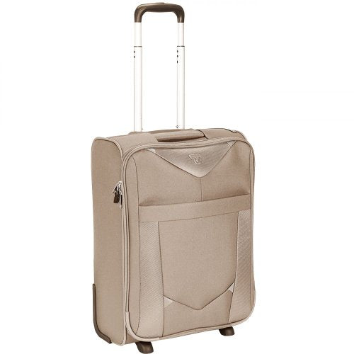"Roncato Cabin Trolley 2R Alistar Ecru 6403 21.5"" Carry-On"