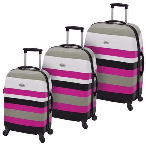 Waverly Cabana Hardside 3 Piece Luggage Set