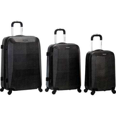 Rockland Luggage Vision 3 Piece Hardside Spinner Luggage Set
