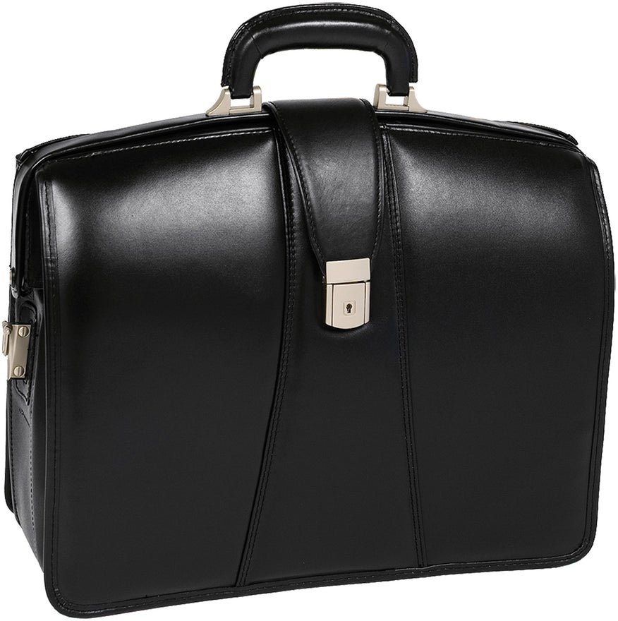 McKlein V Series Harrison Leather 17in Partners Laptop Brief