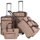 American Flyer Signature 4pc Luggage Set