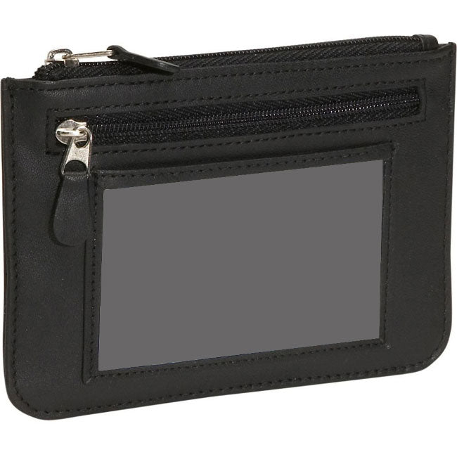 Royce Leather RFID Blocking Slim Women's City Wallet