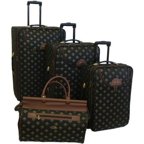 American Flyer Lyon 4pc Luggage Set