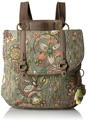 Sakroots Artist Circle Convertible Backpack - Radiant One World