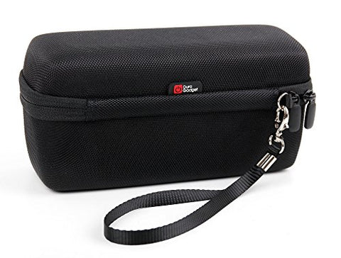 Black Eva Strong Hard Travel Case With Zip For Philips Qg3362/23 Series 5000 - 8 In 1 Waterproof