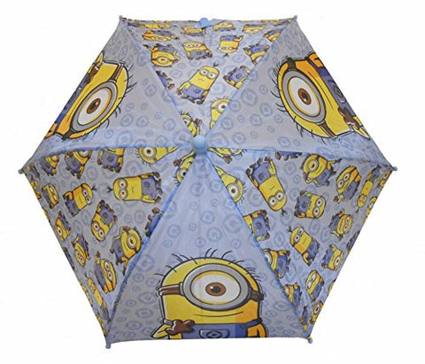 Minions Blue Umbrella - Lots Of Minions