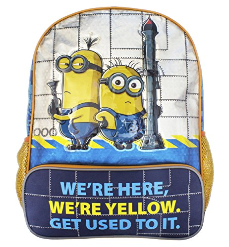 Despicable Me Boys' Despicable Me Backpack We Are Yellow, Multi, One Size