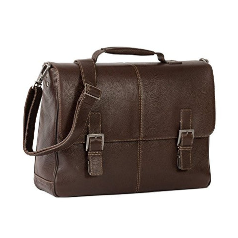 BOCONI Tyler Tumbled Saddle Bag 233-2207 (COFFEE)