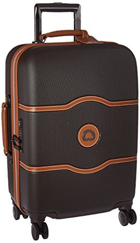 Delsey Luggage Chatelet Hard+ 21 inch Carry on 4 Wheel Spinner