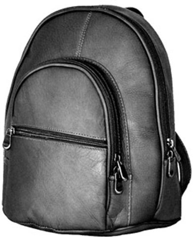 a362509885e3 David King & Co. Double Compartment Backpack, Black, One Size