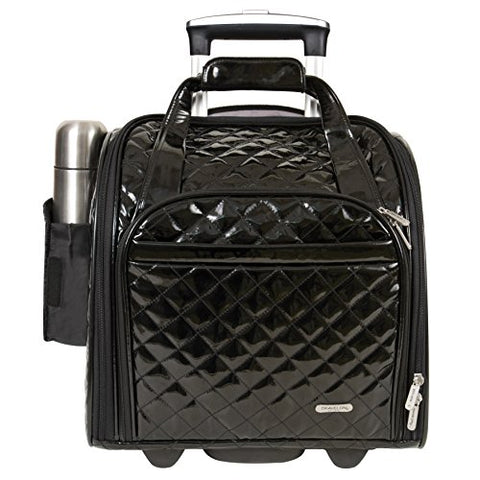 Travelon Wheeled Under Seat Anti-Theft Carry-On With Back-Up Bag - Black