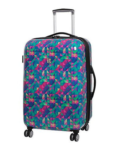 It Luggage Virtuoso 28-Inch Hardside Spinner (Jungle Abstract Geo)