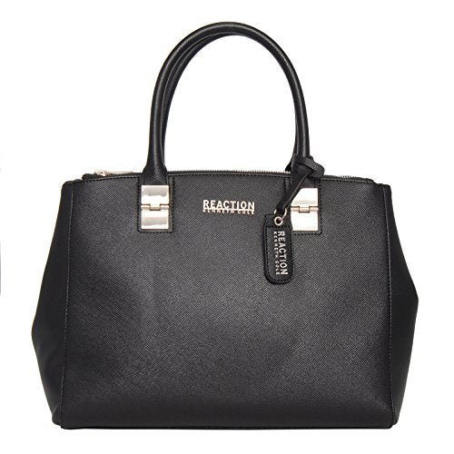 Kenneth Cole Reaction KN1659 Arbol Dome Satchel (BLACK)