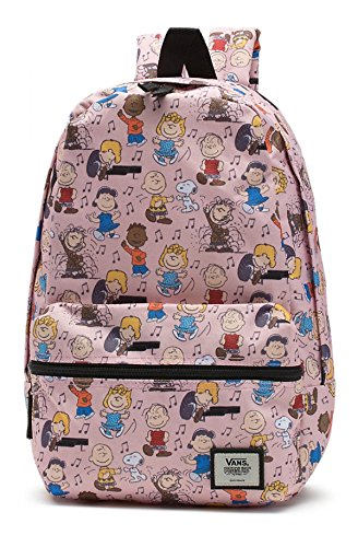 Vans Womens Vans X Peanuts Dance Party Calico Small Backpack Vn-A3D93Qik - Peanuts Dance Party
