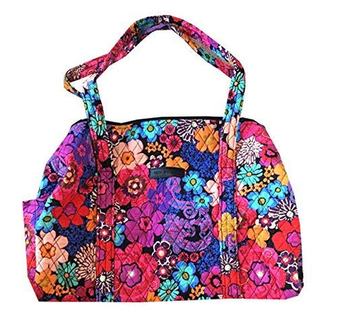 Vera Bradley Women Travel Gym Small Duffel (Floral fiesta)