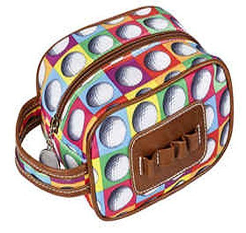 Sydney Love Ont The Ball Ladies Caddy Bag Cosmetic Case,Multi,One Size