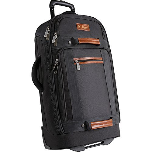 "Original Penguin Luggage 30"" Large Bag Rolling Duffel, Black, One Size"